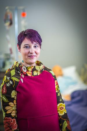 Katie Elanna is studying nursing at UAF's Northwest Campus in Nome.  Filename: AAR-16-4865-385.jpg