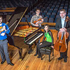 "From left to right, Franz Felkl, Trevor Adams, Ani Gyulamiryan and Bryant Hopkins performed as a quartet during the 2013 UAF Scholarship Breakfast.  <div class=""ss-paypal-button"">Filename: AAR-13-3764-06.jpg</div><div class=""ss-paypal-button-end"" style=""""></div>"