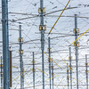 "The High Frequency Active Auroral Research Program (HAARP) facility near Gakona comprises a 40-acre grid of towers to  conduct research of the ionosphere. The facility was built and operated by the U.S. Air Force until Aug. 11, 2015, when ownership was transferred to UAF's Geophysical Institute.  <div class=""ss-paypal-button"">Filename: AAR-15-4600-124.jpg</div><div class=""ss-paypal-button-end""></div>"