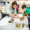 "Youngsters learn all about dinosaurs in Summer Sessions' DinoCamp at the Murrie Building.  <div class=""ss-paypal-button"">Filename: AAR-14-4242-9.jpg</div><div class=""ss-paypal-button-end""></div>"