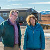"Brian Barnes, director of UAF's Institute of Arctic Biology, visits with U.S. Senator Lisa Murkowski during the senator's brief visit to IAB's Toolik Field Station on Alaska's North Slope in Sept, 2013.  <div class=""ss-paypal-button"">Filename: AAR-13-3929-239.jpg</div><div class=""ss-paypal-button-end""></div>"