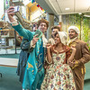 "Cast members of Theatre UAF's production of ""Tartuffe"" pose for a selfie before performing a live teaser in Wood Center a couple of days before opening night.  <div class=""ss-paypal-button"">Filename: AAR-14-4121-43.jpg</div><div class=""ss-paypal-button-end"" style=""""></div>"