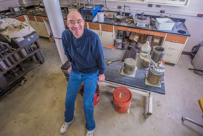 "UAF Engineering Professor David Barnes poses in a Duckering Building lab.  <div class=""ss-paypal-button"">Filename: AAR-13-3812-79.jpg</div><div class=""ss-paypal-button-end"" style=""""></div>"
