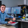 "Mechanical engineeering major Daniel Doughterty poses in UAF's Community and Technical College's 3-D print lab in downtown Fairbanks.  <div class=""ss-paypal-button"">Filename: AAR-16-4857-169.jpg</div><div class=""ss-paypal-button-end""></div>"