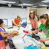 "Students from the Colors of Nature, a program sponsored by CNSM, create animal costumes during the two week program combining science and art.  <div class=""ss-paypal-button"">Filename: AAR-14-4252-88.jpg</div><div class=""ss-paypal-button-end""></div>"