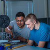 "Seth Carstens, right, and Arch Chauhan watch the progress on their project during an open work session in UAF's Community and Technical College's 3-D print lab in downtown Fairbanks.  <div class=""ss-paypal-button"">Filename: AAR-16-4857-057.jpg</div><div class=""ss-paypal-button-end""></div>"