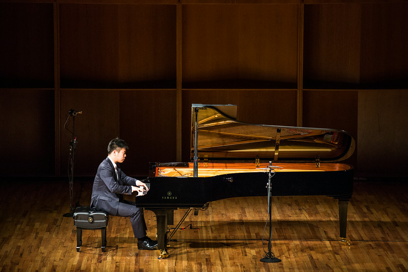 """Sejoon Park performs her recital during the first round of the Alaska International Piano-e-Competition at the Davis Concert Hall.  <div class=""""ss-paypal-button"""">Filename: AAR-14-4228-11.jpg</div><div class=""""ss-paypal-button-end""""></div>"""