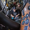 "Jordan Young, front, and Seth Philbert run diagnostics on a big truck in the diesel mechanics lab at the Hutchison Institute of Technology.  <div class=""ss-paypal-button"">Filename: AAR-12-3312-172.jpg</div><div class=""ss-paypal-button-end""></div>"