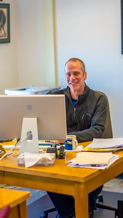 Bob Metcalf is the director of UAF's Northwest Campus in Nome.  Filename: AAR-16-4865-112.jpg