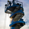 """An employee at the Marinette Marine Corporation works in the crowsnest the day before the launch of the R/V Sikuliaq Oct. 12.  <div class=""""ss-paypal-button"""">Filename: AAR-12-3592-114.jpg</div><div class=""""ss-paypal-button-end"""" style=""""""""></div>"""