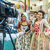 "Nicole Cowans, left, Marley Horner, center and Katrina Kuharich, cast members in Theatre UAF's production of ""Tartuffe"" are interviewed by local media  after performing a live teaser in Wood Center a couple of days before opening night.  <div class=""ss-paypal-button"">Filename: AAR-14-4121-65.jpg</div><div class=""ss-paypal-button-end"" style=""""></div>"