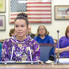 "Kelsey Wallace, a senior in UAF's rural development program from Bethel, presents testimony before a committee of her peers during a mock legislative hearing as part of a weeklong seminar on understanding the legislative process in Juneau.  <div class=""ss-paypal-button"">Filename: AAR-14-4056-152.jpg</div><div class=""ss-paypal-button-end"" style=""""></div>"