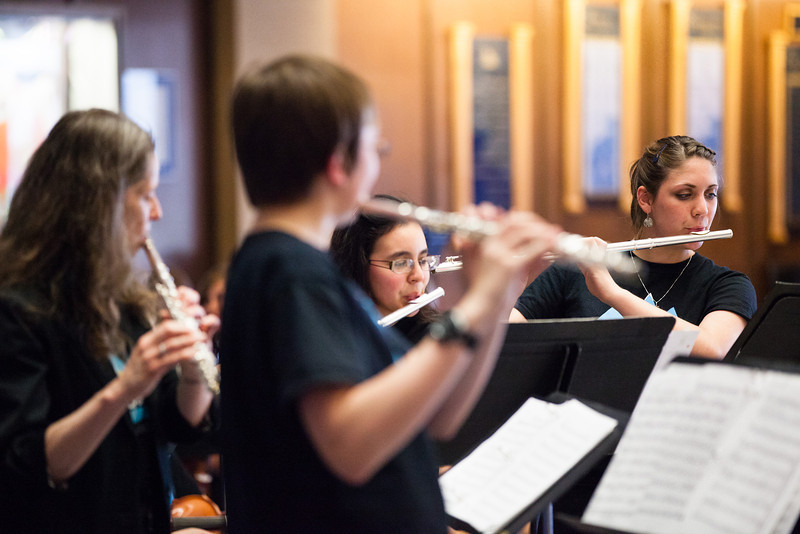 """Vanessa Wetterhall, right, plays with a flute choir during the Summer Music Academy's Celtic Music Concert.  <div class=""""ss-paypal-button"""">Filename: AAR-12-3439-56.jpg</div><div class=""""ss-paypal-button-end"""" style=""""""""></div>"""