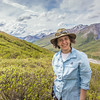 "Associate professor Margaret Darrow pauses as she hikes down one of a series of frozen debris lobes which have appeared along the Dietrich River valley in the southern Brooks Range about 225 miles north of Fairbanks. Darrow and a team of state geologists are investigating ways to slow down or step the movement of the lobes, which could threaten the Dalton Highway and the nearby trans-Alaska pipeline.  <div class=""ss-paypal-button"">Filename: AAR-14-4214-309.jpg</div><div class=""ss-paypal-button-end""></div>"