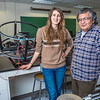"Physics major Haley Nelson, left, and Stanley Edwin relax after class in a Reichardt Building lab.  <div class=""ss-paypal-button"">Filename: AAR-13-4009-94.jpg</div><div class=""ss-paypal-button-end"" style=""""></div>"