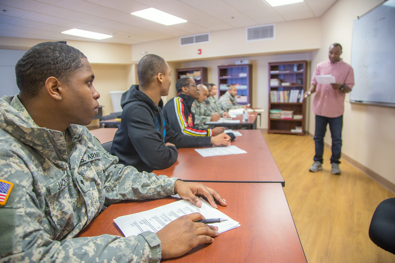 """Soldiers stationed at Fort Wainwright have access to college classes through the Education Center on base.  <div class=""""ss-paypal-button"""">Filename: AAR-14-4135-67.jpg</div><div class=""""ss-paypal-button-end""""></div>"""