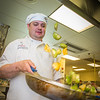 "Joshua Broda prepares squash to serve during lunch at CTC's culinary arts kitchen in the Hutchison Center.  <div class=""ss-paypal-button"">Filename: AAR-13-3811-91.jpg</div><div class=""ss-paypal-button-end"" style=""""></div>"