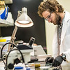 "Ph.D. candidate Sean Brennan works in a lab in the Water and Environmental Research Center in the Duckering Building.  <div class=""ss-paypal-button"">Filename: AAR-12-3579-12.jpg</div><div class=""ss-paypal-button-end"" style=""""></div>"