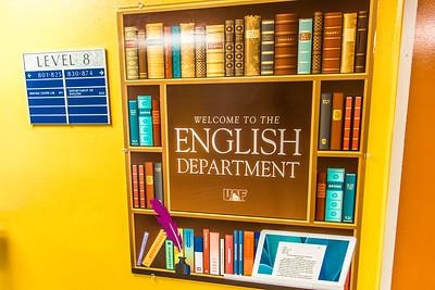 The UAF English Department is on the 8th floor of the Gruening Building.  Filename: AAR-14-4298-79.jpg