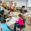 """Youngsters learn all about dinosaurs in Summer Sessions' DinoCamp at the Murrie Building.  <div class=""""ss-paypal-button"""">Filename: AAR-14-4242-53.jpg</div><div class=""""ss-paypal-button-end""""></div>"""