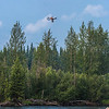 "An unmanned aerial vehicle (UAV) stands ready to collect video of important king salmon spawning habitat along a popular stretch of the upper Chena River about 40 miles northeast of Fairbanks. The project was a collaboration between the Alaska Center for Unmanned Aircraft Systems Integration (ACUASI) and the U.S. Fish and Wildlife Service.  <div class=""ss-paypal-button"">Filename: AAR-15-4593-246.jpg</div><div class=""ss-paypal-button-end""></div>"