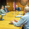 "Alaska Governor Sean Parnell meets with students from Prof. Mike Davis's rural development leadership seminar during their week-long workshop in Juneau.  <div class=""ss-paypal-button"">Filename: AAR-14-4053-77.jpg</div><div class=""ss-paypal-button-end"" style=""""></div>"