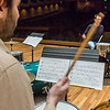"Students work with Professor Morris Palter during class, MUS F606 - Advanced Chamber Music - Percussion, in the Davis Concert Hall.  <div class=""ss-paypal-button"">Filename: AAR-14-4094-14.jpg</div><div class=""ss-paypal-button-end"" style=""""></div>"