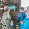 "A simultaneous press conference took place in Anchorage and the UAF Large Animal Research Station May 5 to mark the first official research flight featuring an unmanned aerial vehicle (UAV).  <div class=""ss-paypal-button"">Filename: AAR-14-4172-59.jpg</div><div class=""ss-paypal-button-end""></div>"
