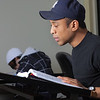 "Anthony Rogers reads through the textbook in his drafting class in UAF's Community and Technical College.  <div class=""ss-paypal-button"">Filename: AAR-11-3221-57.jpg</div><div class=""ss-paypal-button-end"" style=""""></div>"