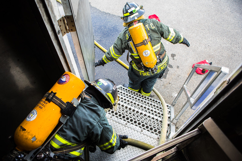 """The CTC Summer Fire Academy is an intensive month-long training where students participate in classroom and hands-on learning to prepare them for the International Fire Service Accreditation Congress Firefighter I certificate.  <div class=""""ss-paypal-button"""">Filename: AAR-16-4937-177.jpg</div><div class=""""ss-paypal-button-end""""></div>"""