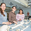 "Undergraduates Heather Bruhn, left, and Michelle Negrete work with teaching assistant Sophie Chowdhury during their summer sessions anatomy and physiology lab in the Murie Building.  <div class=""ss-paypal-button"">Filename: AAR-13-3856-102.jpg</div><div class=""ss-paypal-button-end"" style=""""></div>"