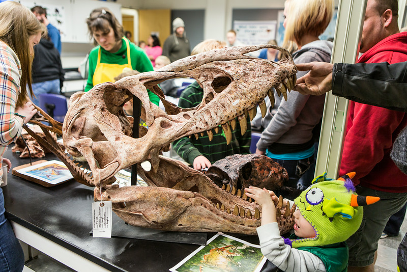 """The Science Potpourri event draws children and their parents to explore fields of science at the Reichardt Building.  <div class=""""ss-paypal-button"""">Filename: AAR-14-4141-150.jpg</div><div class=""""ss-paypal-button-end""""></div>"""