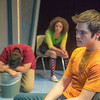 "Cast members in Theatre UAF's production of ""Speech and Debate"" rehearse a scene in the Salisbury Theatre.  <div class=""ss-paypal-button"">Filename: AAR-13-3755-33.jpg</div><div class=""ss-paypal-button-end"" style=""""></div>"