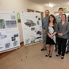 "(back left to right) Erik Williams, Garrett Evridge, Lyle Axelarris, (front left to right) Rachael Skye Sturm, and Maura Sateriale, are on Team Circle Visions for the UAF Sustainable Village Design Competition.  <div class=""ss-paypal-button"">Filename: AAR-11-3198-38.jpg</div><div class=""ss-paypal-button-end"" style=""""></div>"