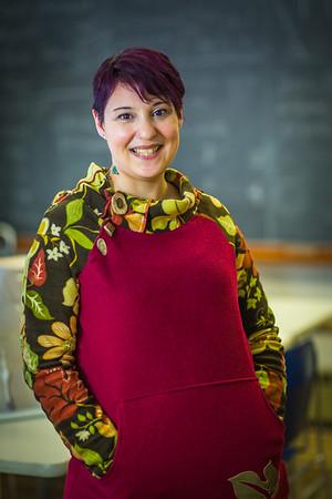 Katie Elanna is studying nursing at UAF's Northwest Campus in Nome.  Filename: AAR-16-4865-402.jpg