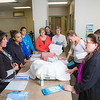 "Instructor Cindy Schmitt, right, describes a procedure to students during an exercise in the nurse aide training program at UAF's Community and Technical College.  <div class=""ss-paypal-button"">Filename: AAR-12-3548-116.jpg</div><div class=""ss-paypal-button-end"" style=""""></div>"