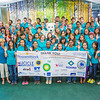 "Students and staff of Alaska Business Week pose with the Alaska Nanook in the Wood Center on the UAF campus. The week-long event is sponsored each summer by UAF's School of Management and the Northern Leadership Center.  <div class=""ss-paypal-button"">Filename: AAR-13-3855-19.jpg</div><div class=""ss-paypal-button-end"" style=""""></div>"