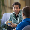 "Ibrahim Ilhan, left, and Nilesh Chandrakant Dixit hold a discussion in the third floor lobby of the Reichardt Building on the Fairbanks campus.  <div class=""ss-paypal-button"">Filename: AAR-12-3386-40.jpg</div><div class=""ss-paypal-button-end"" style=""""></div>"