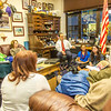 "Students from UAF's Alaska Native Studies and Rural Development program meet with Senator Donny Olson in his office during their weeklong seminar on Understanding the Legislative Process in the state capital of Juneau.  <div class=""ss-paypal-button"">Filename: AAR-14-4054-343.jpg</div><div class=""ss-paypal-button-end"" style=""""></div>"