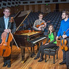 "From left to right, Franz Felkl, Trevor Adams, Ani Gyulamiryan and Bryant Hopkins performed as a quartet during the 2013 UAF Scholarship Breakfast.  <div class=""ss-paypal-button"">Filename: AAR-13-3764-02.jpg</div><div class=""ss-paypal-button-end"" style=""""></div>"