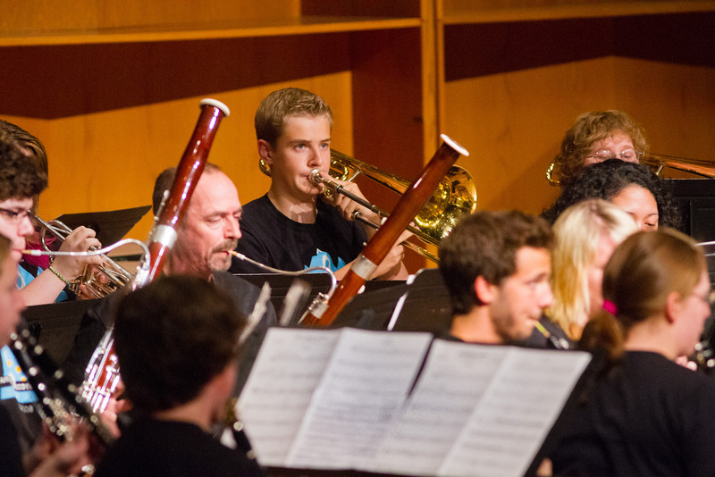 """UAF Summer Music Academy's Symphonic Band performs at the Davis Concert Hall in front of fellow classmates, parents, teachers, and community members.  <div class=""""ss-paypal-button"""">Filename: AAR-12-3439-79.jpg</div><div class=""""ss-paypal-button-end"""" style=""""""""></div>"""