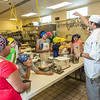 "Luis Martinez, right, program manager for CTC's Culinary Arts program, leads the UAF Summer Session's Baking Blitz for local elementary school kids May 28 in the Hutchison kitchen.  <div class=""ss-paypal-button"">Filename: AAR-14-4203-25.jpg</div><div class=""ss-paypal-button-end""></div>"
