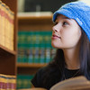 """Samantha D'Hondt conducts some research for her paralegal studies class at CTC's law library.  <div class=""""ss-paypal-button"""">Filename: AAR-11-3225-41.jpg</div><div class=""""ss-paypal-button-end"""" style=""""""""></div>"""