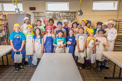 Local school kids attended the UAF Summer Sessions Baking Blitz during the last week in May in the Hutchison kitchen.  Filename: AAR-14-4203-46.jpg