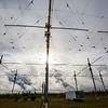 "A look at part of the antenae array at the High Frequency Active Auroral Research Program (HAARP) facility in Gakona. The facility was built and operated by the U.S. military before its official transfer to UAF's Geophysical Institute in August 2015.  <div class=""ss-paypal-button"">Filename: AAR-15-4600-051.jpg</div><div class=""ss-paypal-button-end""></div>"