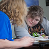 "Victoria Pacheco, right, gets help from a tutor during a sessions in UAFs Student Support Services' study lounge in the Gruening Building.  <div class=""ss-paypal-button"">Filename: AAR-12-3285-016.jpg</div><div class=""ss-paypal-button-end"" style=""""></div>"