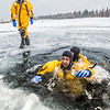 "Student firefighters practice cold-water rescue techniques at a pond near the Fairbanks campus.  <div class=""ss-paypal-button"">Filename: AAR-13-3797-15.jpg</div><div class=""ss-paypal-button-end"" style=""""></div>"