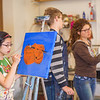 "Youngsters paint works of art at the 2013 Summer Visual Art Academy.  <div class=""ss-paypal-button"">Filename: AAR-13-3860-32.jpg</div><div class=""ss-paypal-button-end"" style=""""></div>"