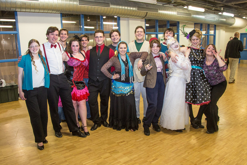 """A ballroom dance group poses in costume on Halloween day after class in the SRC.  <div class=""""ss-paypal-button"""">Filename: AAR-12-3623-3.jpg</div><div class=""""ss-paypal-button-end"""" style=""""""""></div>"""