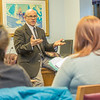"""Students from UAF's Alaska Native Studies and Rural Development program meet with Senate Majority Leader John Coghill during their weeklong seminar on Understanding the Legislative Process in the state capital of Juneau.  <div class=""""ss-paypal-button"""">Filename: AAR-14-4053-44.jpg</div><div class=""""ss-paypal-button-end"""" style=""""""""></div>"""